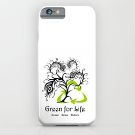 Green for Life iPhone Case