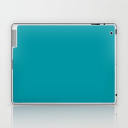 Turquoise Blue Teal | Solid Colour Laptop & iPad Skin