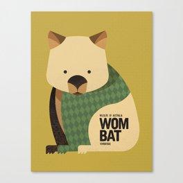 Hello Wombat Canvas Print