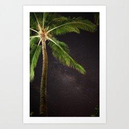 Maui Night Sky Art Print