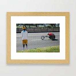 Marathon  Framed Art Print