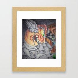 Mad Professor Framed Art Print