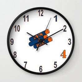 Fun 4 Real Clock Wall Clock
