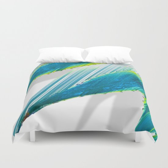 The soaring flight of the agave Duvet Cover