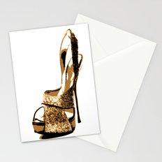 Sparkle Shoe Stationery Cards