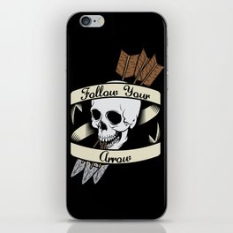 Follow Your Arrow iPhone Skin
