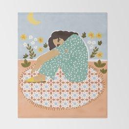 Parisian chic Throw Blanket