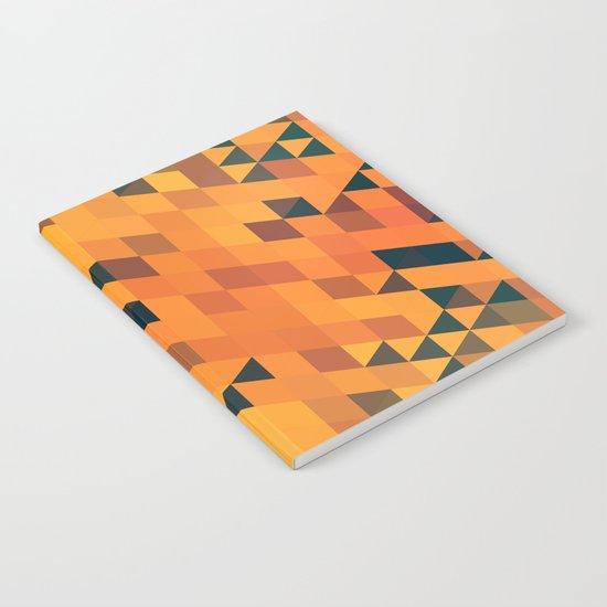 Gold Pattern Notebook