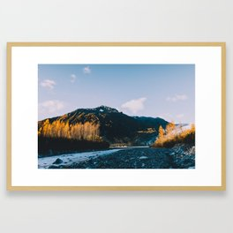 Autumn in Kenai Fjords National Park IV Framed Art Print