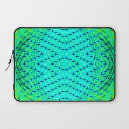 FLUX #3  Optical Illusion Vibrant Colorful Psychedelic Trippy Design Laptop Sleeve
