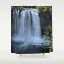 Koosah Falls No. 3 Shower Curtain