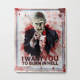 I want you! Metal Print