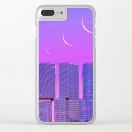 Skin of the Night Clear iPhone Case
