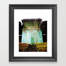 Nature finds the way inside... and outside... Framed Art Print