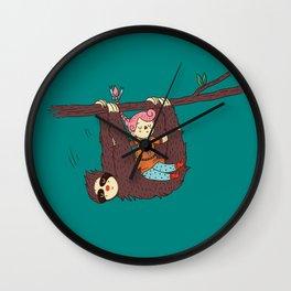 Sloth Swing Wall Clock
