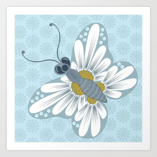 daisy 5 Art Print