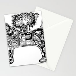 Cat Scan Stationery Cards