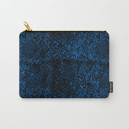 Snake Princess Blue Carry-All Pouch