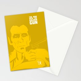 The Man With The Golden Gun Stationery Cards