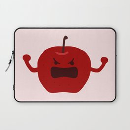 Vulgar Fruit // Angry Apple Laptop Sleeve