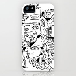 Mad World iPhone Case