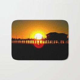 Huntington Beach Sunset 2 Bath Mat