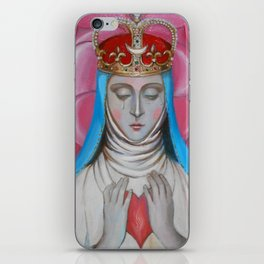 Madonna of tears iPhone Skin