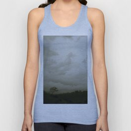 Dawn in the countryside Unisex Tank Top