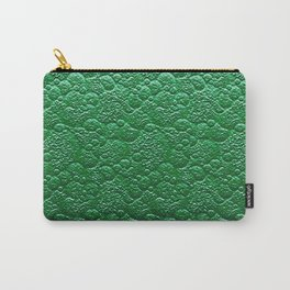 Moss Green Fairy Forest Texture Carry-All Pouch