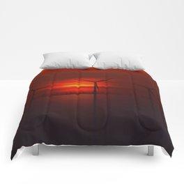 Windmills in the Sun Comforters