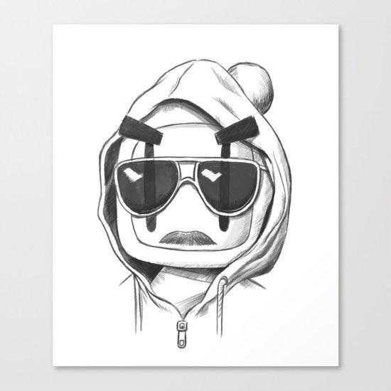 Una-Bomberman Canvas Print