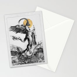 notre dame des oubliés - our lady of the forgotten Stationery Cards