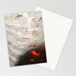 Flaming Seashell 2 Stationery Cards