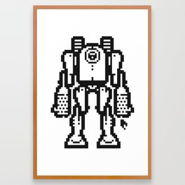 PXLBOT 002 Framed Art Print