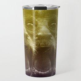 Crazy monkey Travel Mug