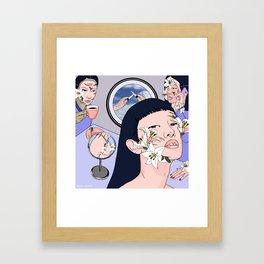 Finite Anesthesia Framed Art Print