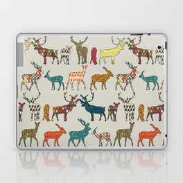 patterned deer stone Laptop & iPad Skin