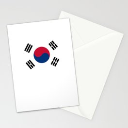 National flag of South Korea, officially the Republic of Korea, Authentic version - color and scale Stationery Cards