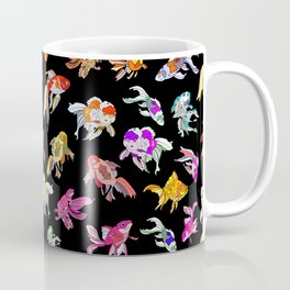 Electric Neon Black Aquarium Coffee Mug