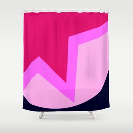 The Lovebirds Shower Curtain