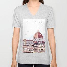 Brunelleschi's masterpiece Unisex V-Neck