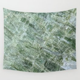 Green Tourmaline Wall Tapestry