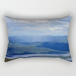Rain Across The Valley Rectangular Pillow