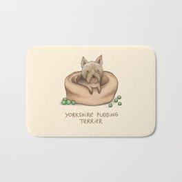 Yorkshire Pudding Terrier Bath Mat