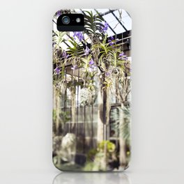 Orchids in the Air  //  The Botanical Series iPhone Case