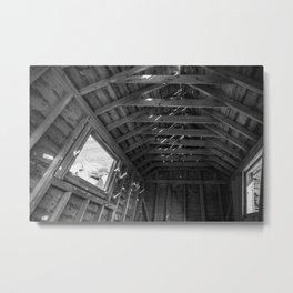 Chimney Corner Engine House - Cape Breton Metal Print