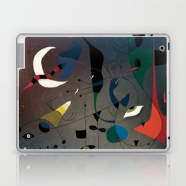 Miró's Ghost Wakes Up from a Bad Reality Laptop & iPad Skin