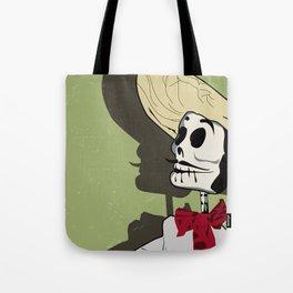 Dia de los Muertos Man Tote Bag