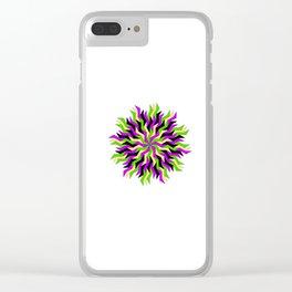 Lightning Wheel Clear iPhone Case