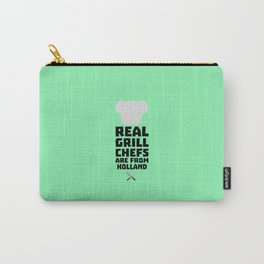 Real Grill Chefs are from Holland T-Shirt D3q61 Carry-All Pouch